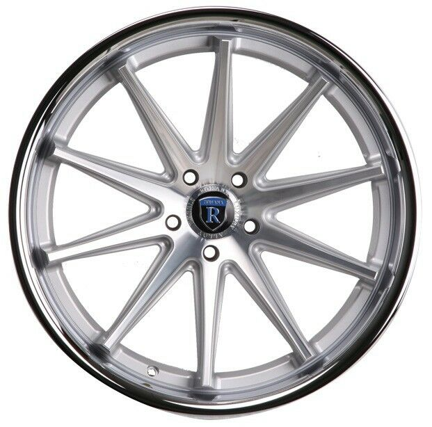 20x9 20x11 28 Rohana Rc10 5x120 Silver Wheels Fit