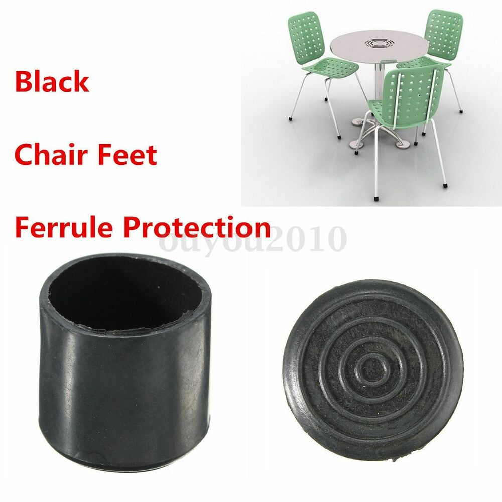 Rubber Chair Ferrule Bottom Anti Scratch Floor Protector Cover Table Feet Leg