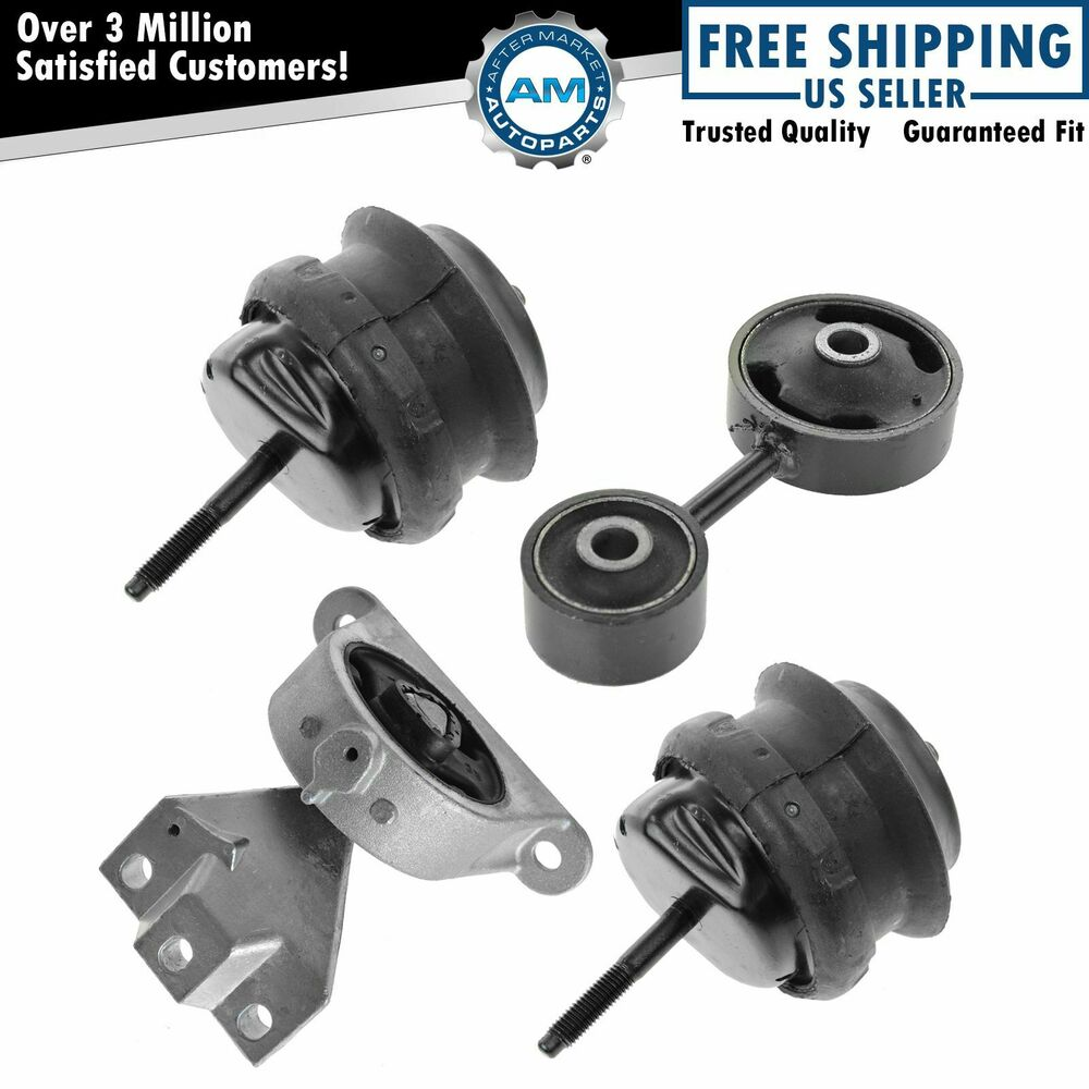 Engine Motor & Transmission Mounts Kit Set Of 4 For 04-06