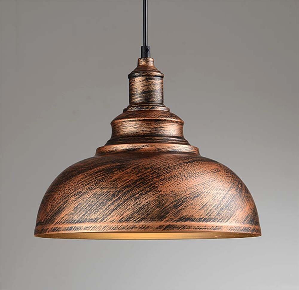 Rusty Rustic Metal Industrial Vintage Retro Pendant Lamp