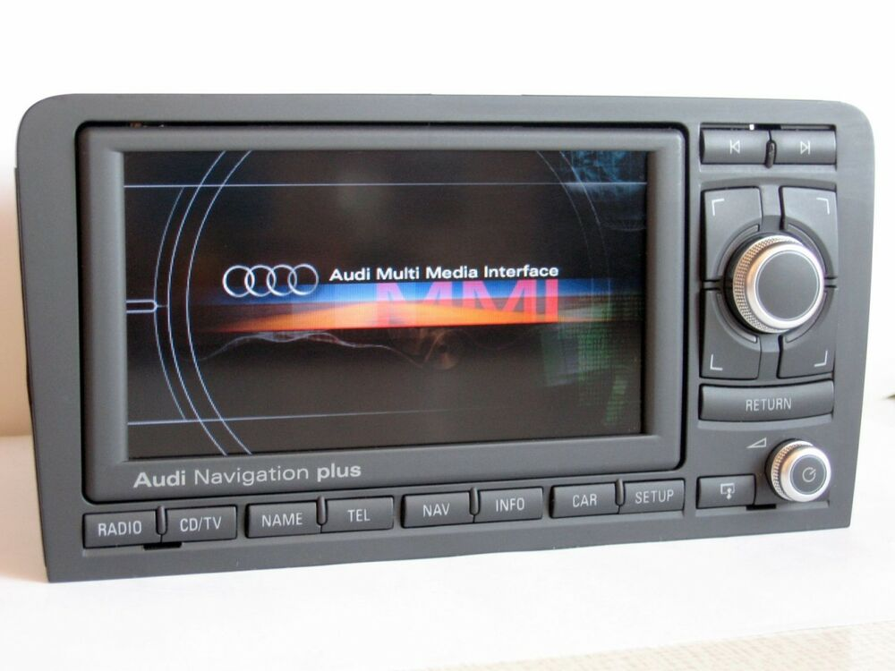usa canada audi a3 s3 rs3 rns e 2015 map dvd navigation. Black Bedroom Furniture Sets. Home Design Ideas