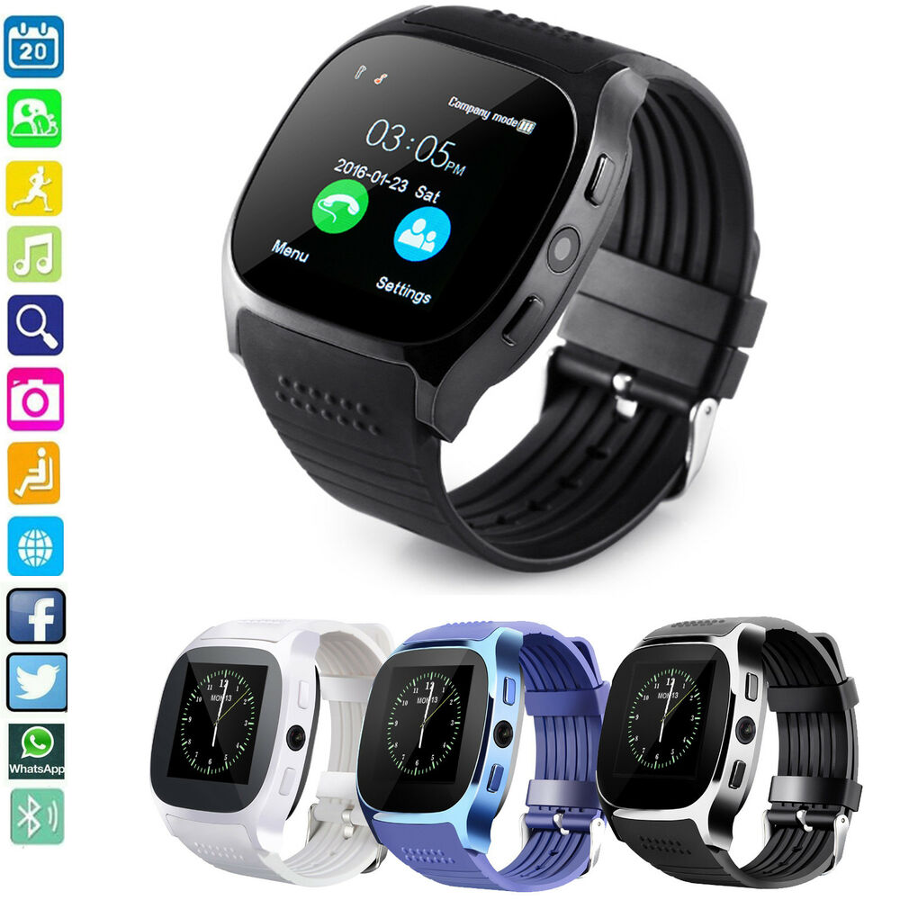 Smart Bluetooth Wrist Watch Phone Mate For Android Smart ...