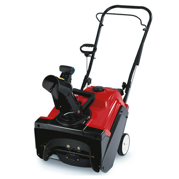 Powerful Handheld Electric Snow Blowers : Toro power clear ze in single stage gas snow blower