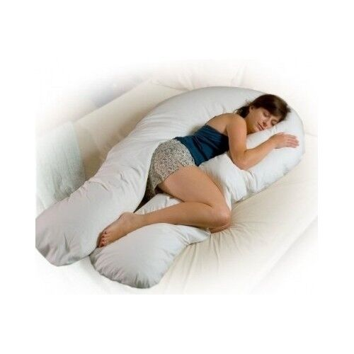 Body support pillow sleep tv nursing pregnant maternity for Back and neck support for bed