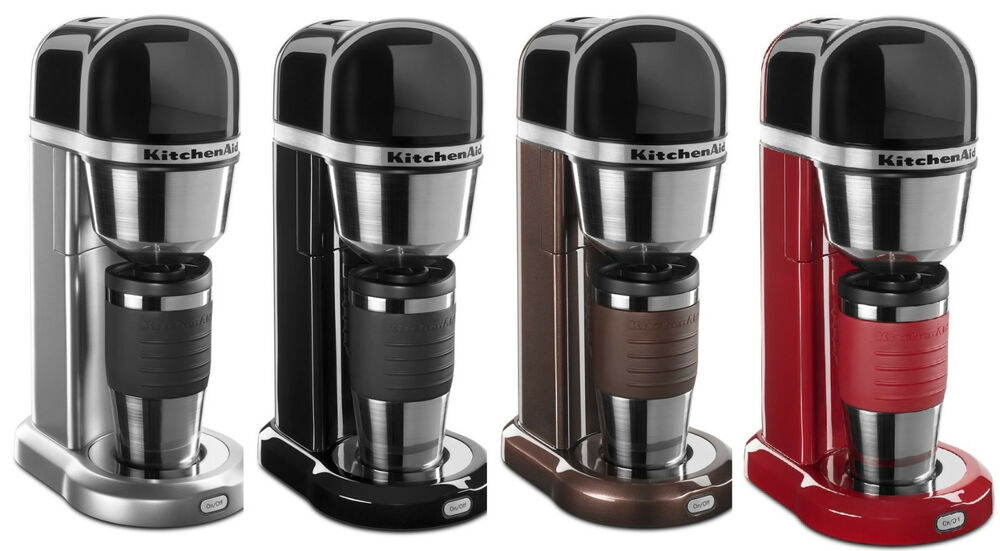 Kitchenaid Coffee Maker Stainless Steel Carafe : KitchenAid Personal Coffee Maker Machine R-KCM0402 One-Touch Brewing 4 colors eBay