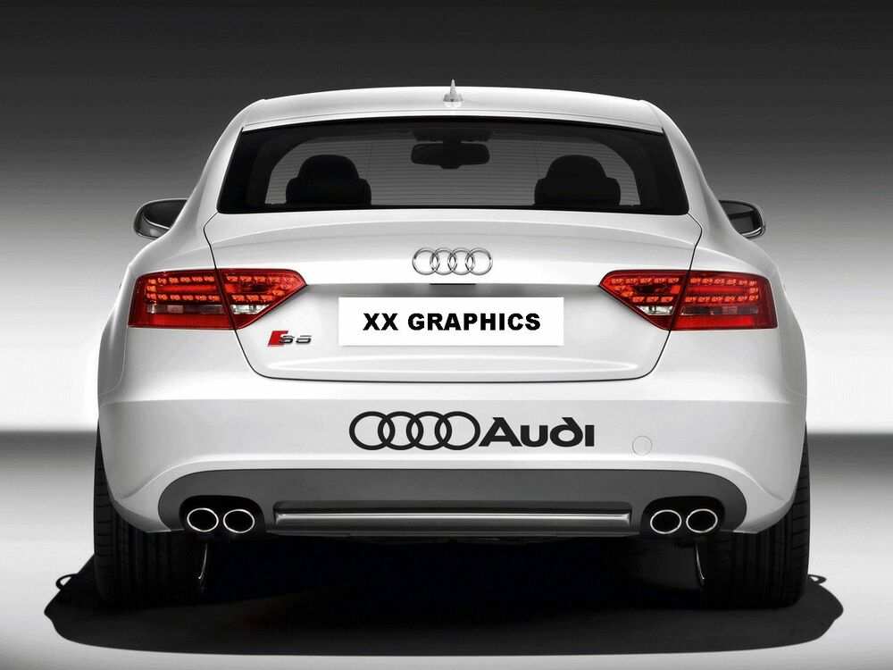 Rings Audi A4 A6 A8 Rs3 Rs4 Q5 S Racing Decal Sticker