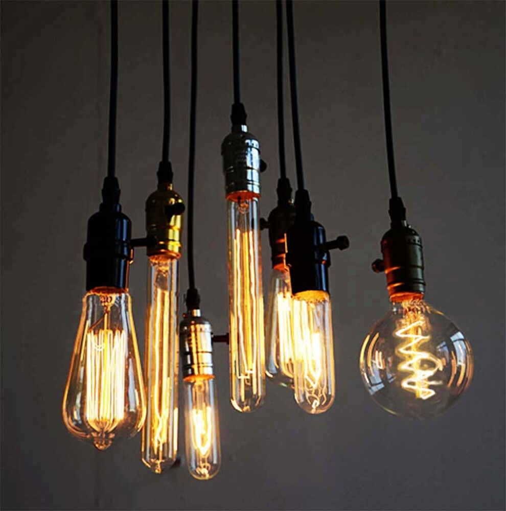 Industrial Vintage Dimmable Edison Filament Light Bulb