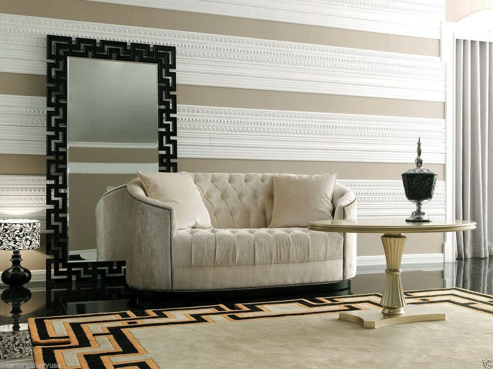 Sofa piece luxury living room sofa lazio tufted sofa in for Luxury living room sofa