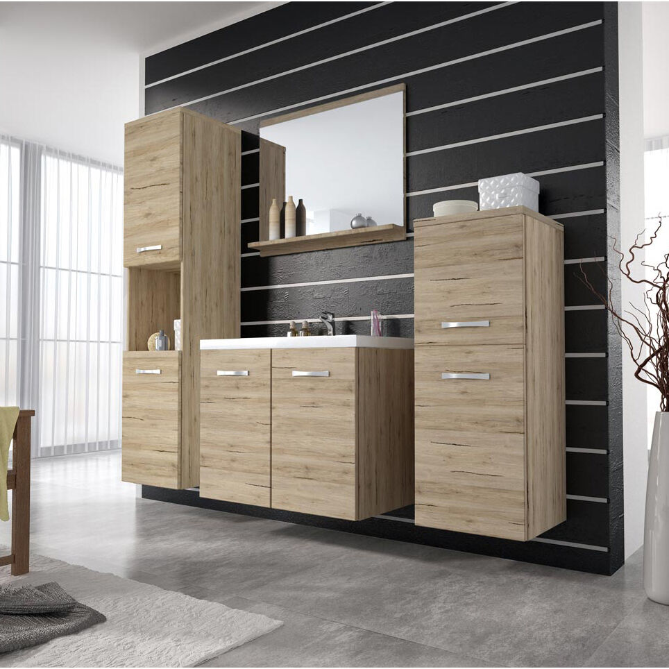 elegante badm bel set badezimmer neu emilie pm waschbecken aktionpreis ebay. Black Bedroom Furniture Sets. Home Design Ideas