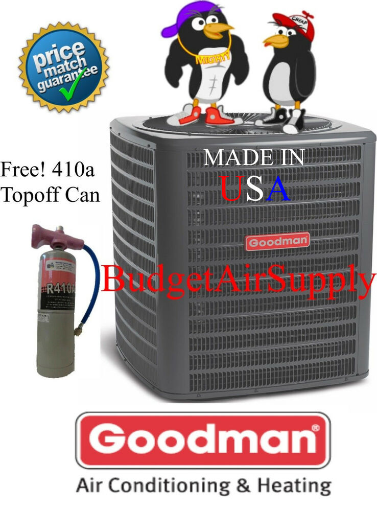 Goodman 3 Ton 14 Seer Heat Pump A C Condenser Pre Charged