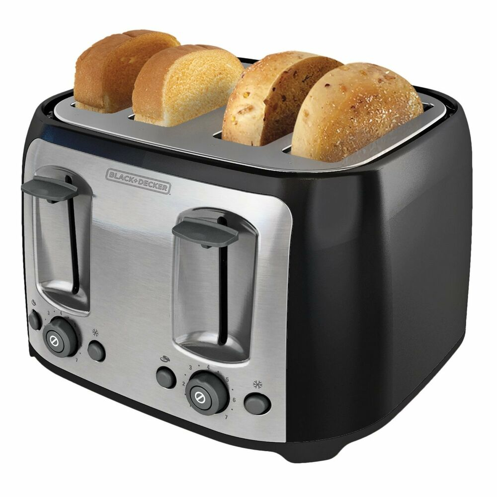 Information On The Toaster ~ Black decker slice extra wide slot toaster bread