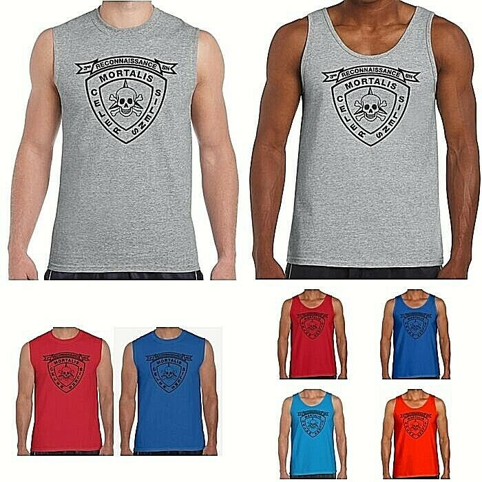 6551969c Details about 3rd Recon Battalion USMC US Marines Tank Top or Sleeveless T  Shirt