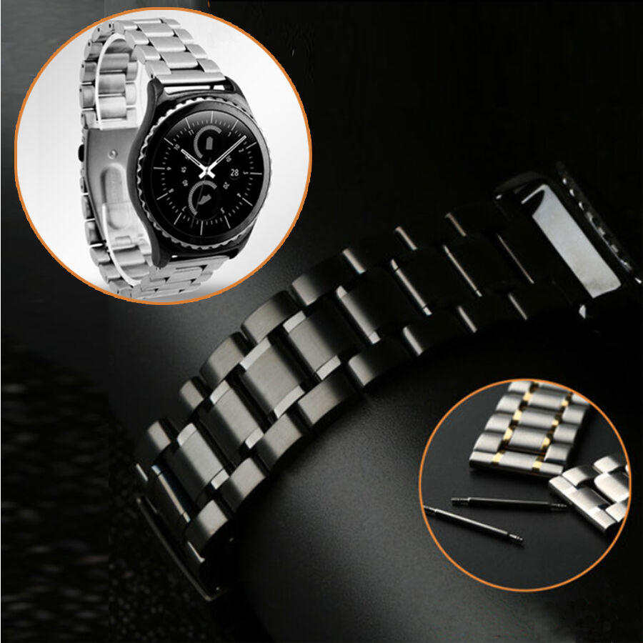 Mode Stainless Steel Watch Band +Tool For Samsung Galaxy ...