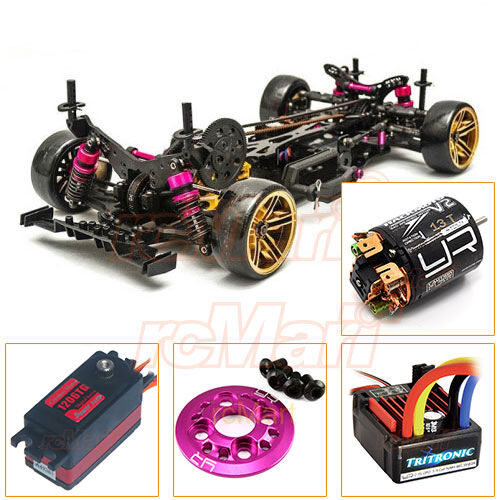 3racing sakura d4 awd 1 10 drift car kit servo esc 13t motor ep rc combo cb0856 ebay. Black Bedroom Furniture Sets. Home Design Ideas