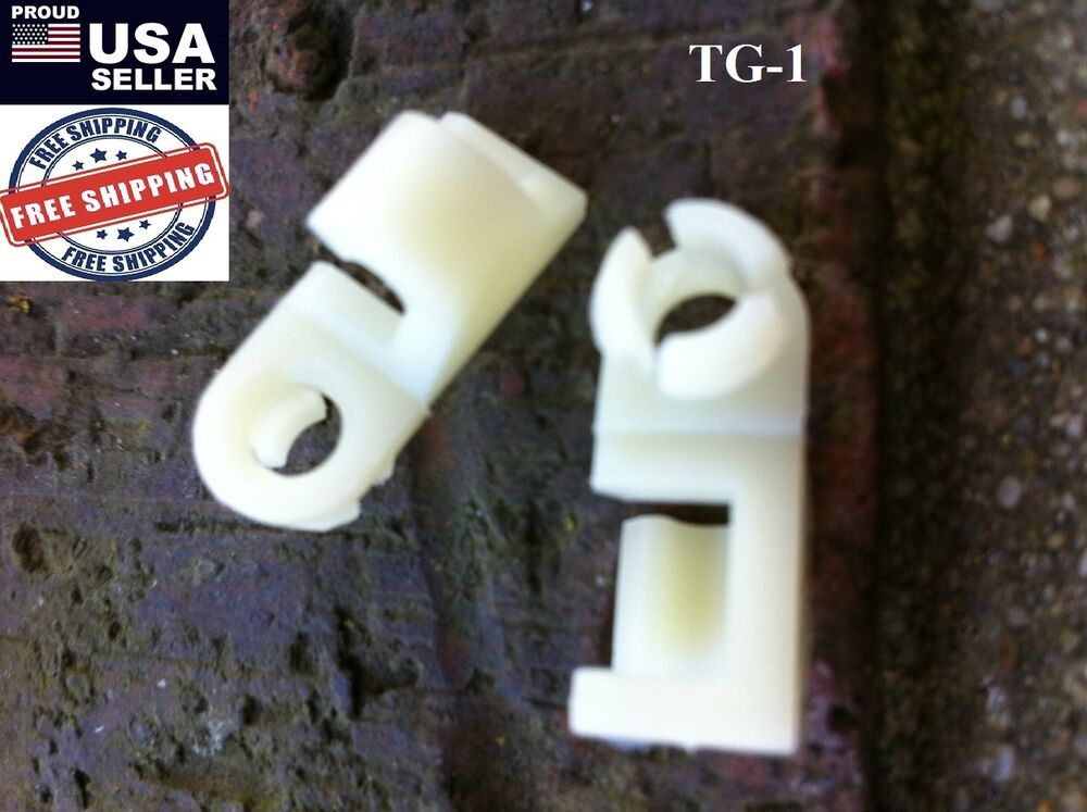 CHEVROLET SUBURBAN BLAZER GMC JIMMY & MORE DOOR & TAILGATE LATCH ROD CLIPS TG1 | eBay