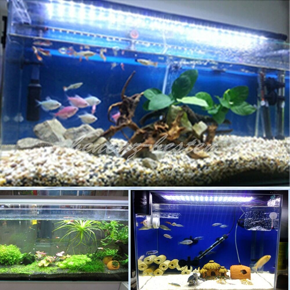 30 150cm led aquariumlampe aquarium beleuchtung ip67 wasserdicht aufsetzleuchte ebay. Black Bedroom Furniture Sets. Home Design Ideas