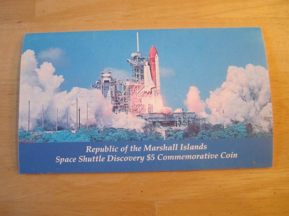 space shuttle discovery 5 dollar commemorative coin - photo #32