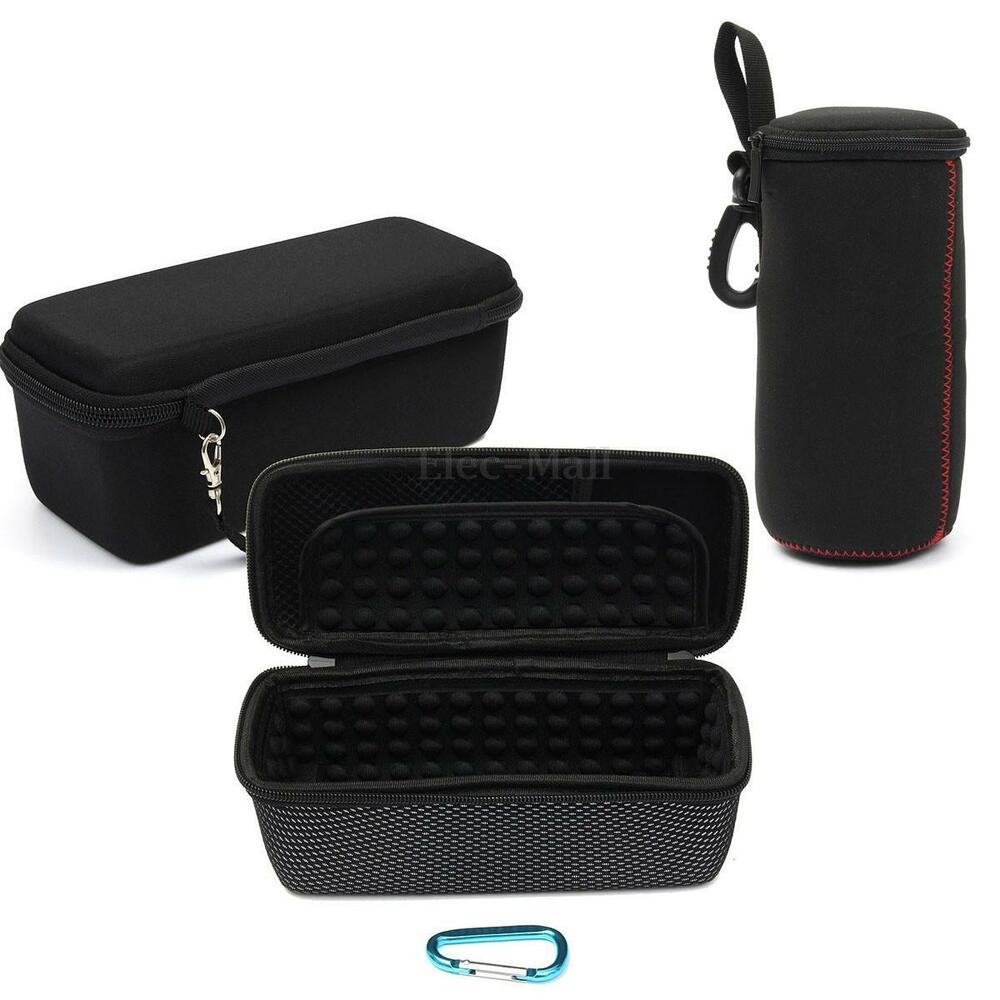 travel portable case bag carry box pouch for jbl flip 3. Black Bedroom Furniture Sets. Home Design Ideas