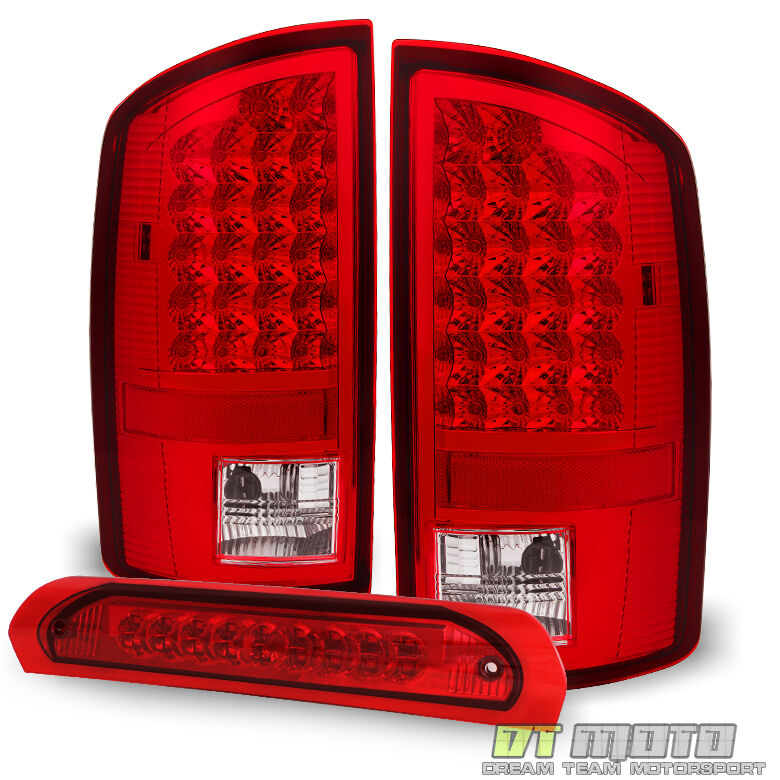 2007 2008 dodge ram 1500 2007 2009 ram 2500 3500 led tail lights led. Black Bedroom Furniture Sets. Home Design Ideas