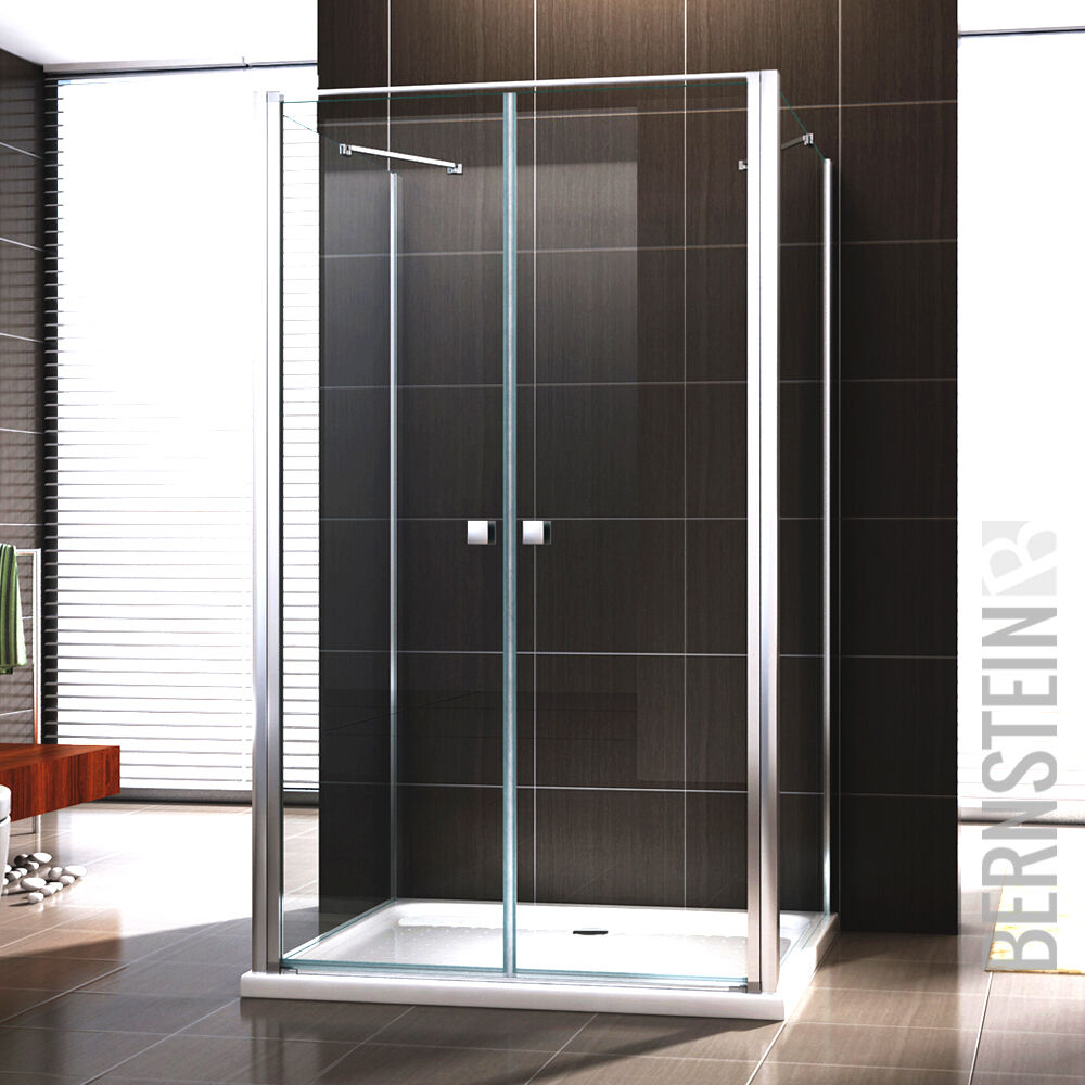dusche duschkabine u form ex 416 3 duschabtrennung nano esg glas ebay. Black Bedroom Furniture Sets. Home Design Ideas