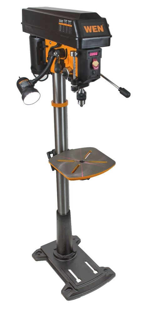 Wen 4225 8 6 Amp Variable Speed Floor Standing Drill Press
