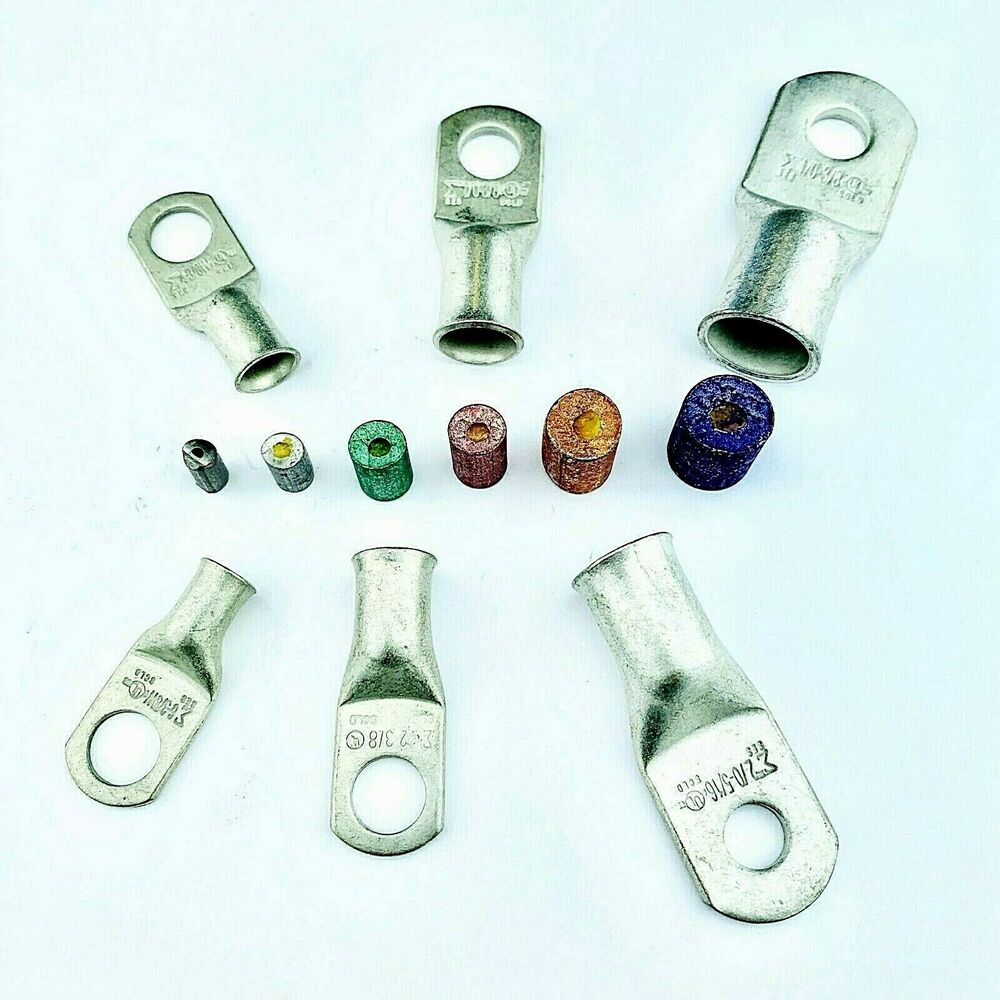 Battery cable ends lugs copper ring terminals wire