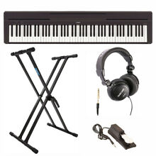 Yamaha P45B Digital Piano w/ Stand, Full-Size Headphones, and Sustain Pedal