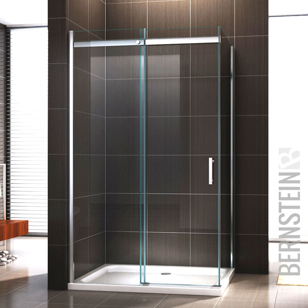 duschkabine duschabtrennung dusche schiebet r nano esg echtglas glas esg glas ebay. Black Bedroom Furniture Sets. Home Design Ideas