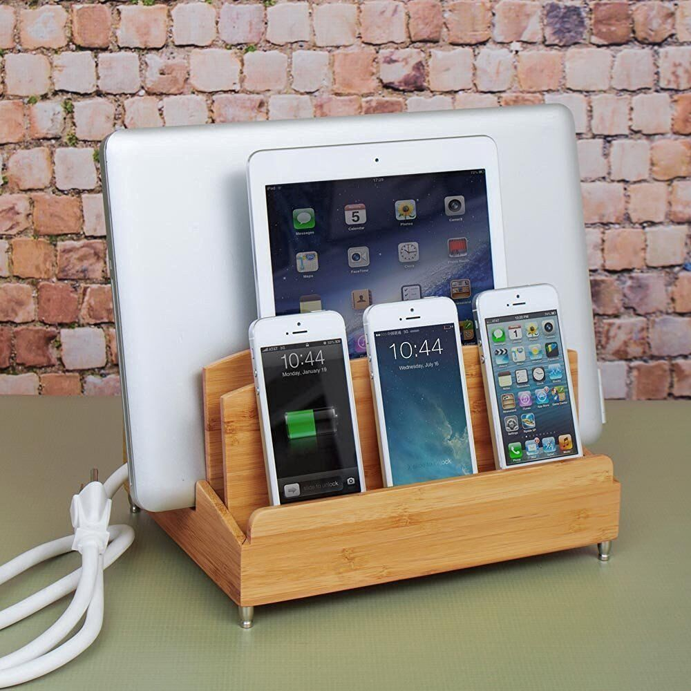 G U S Ultra Charging Station With Power Strip For