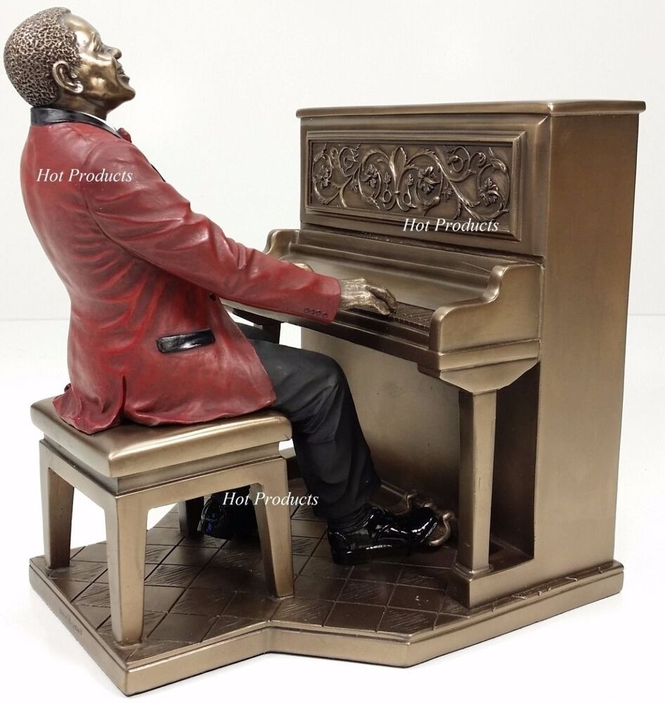 Http Www Ebay Com Itm Jazz Band Collection Piano Player Home Decor Statue Sculpture Figurine 131721150791