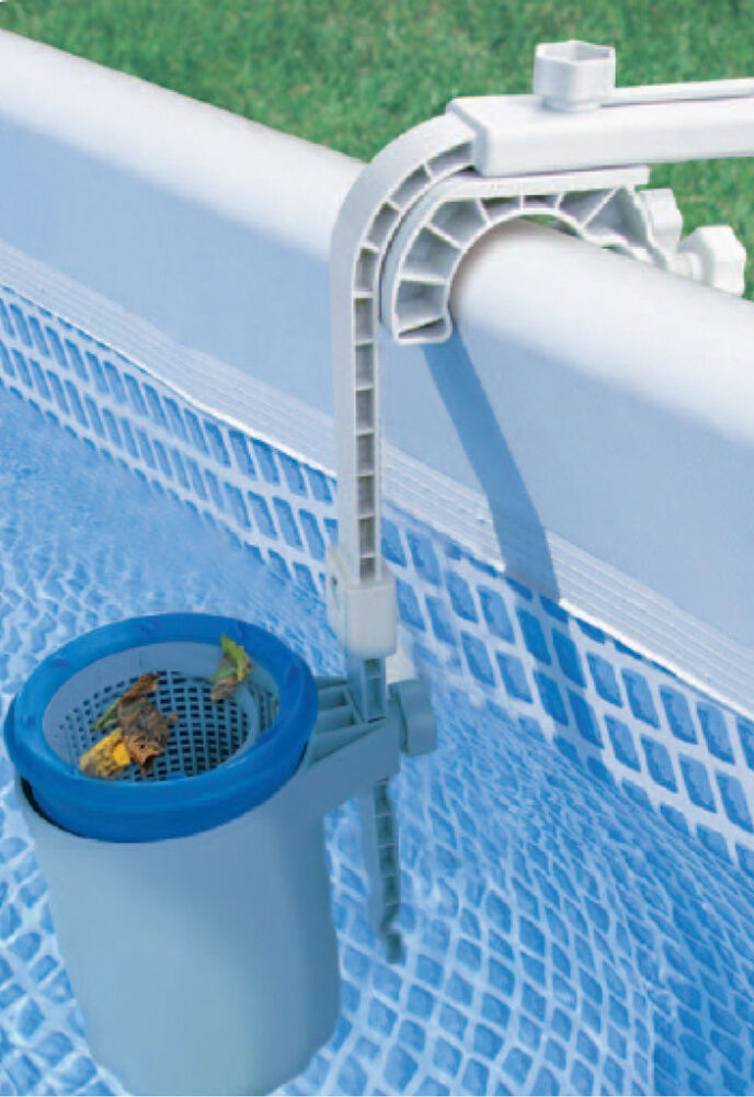 Skimbi above ground swimming pool surface skimmer for intex soft sided pools 844268006370 ebay for In ground swimming pool skimmer