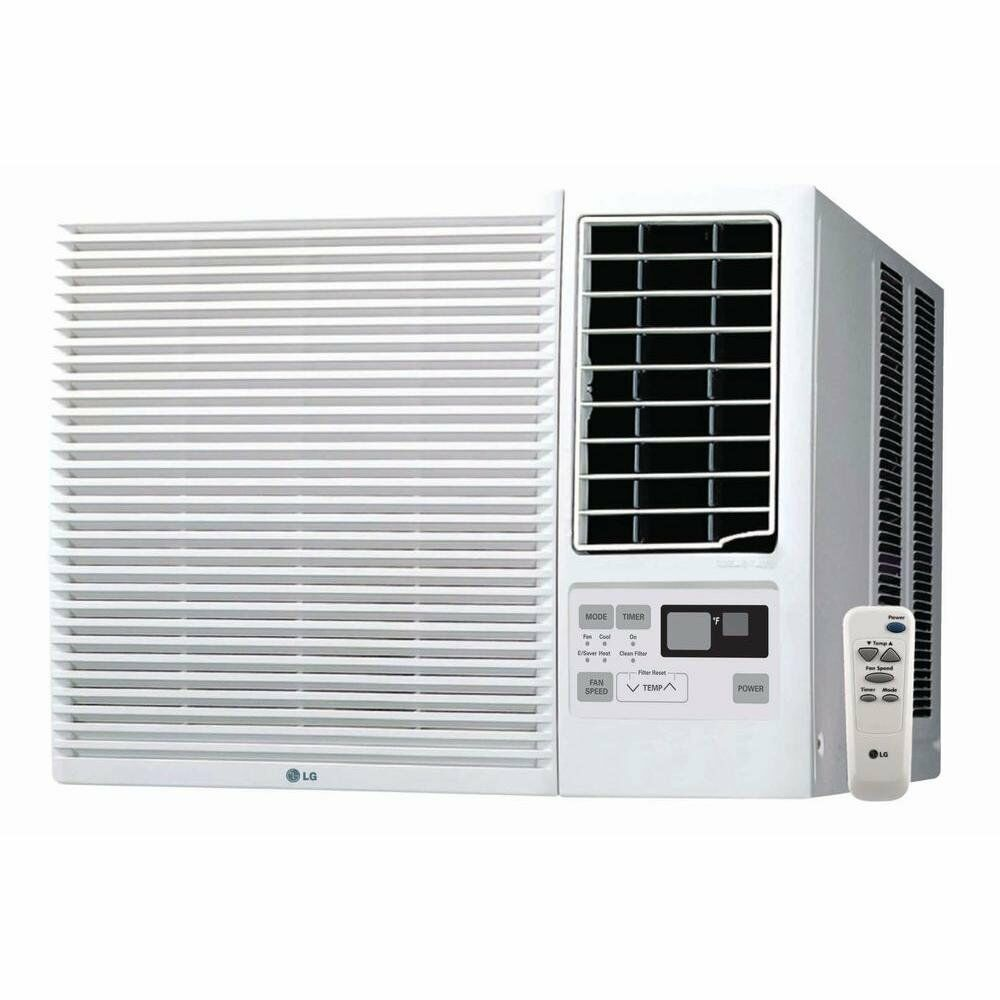 Lg lw1815hr 18 000btu window air conditioner cooling for 18000 btu ac heater window unit