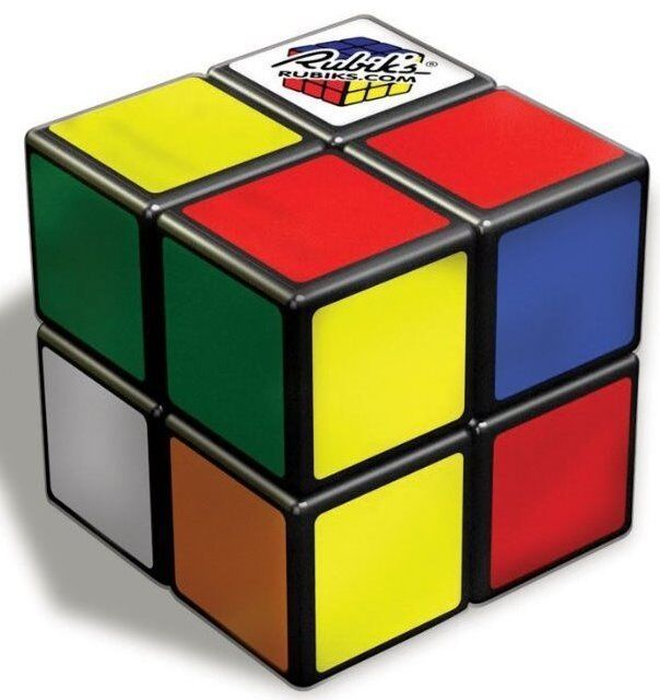 rubik 39 s 2 x 2 puzzle cube game rubiks toy 2x2 official. Black Bedroom Furniture Sets. Home Design Ideas