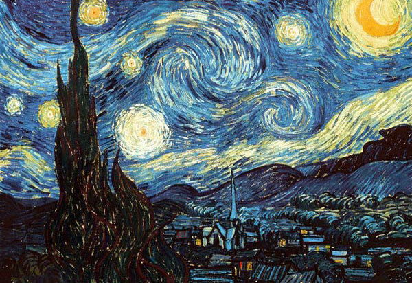 Starry Night Poster Full Size 24x36 Print Vincent Van Gogh