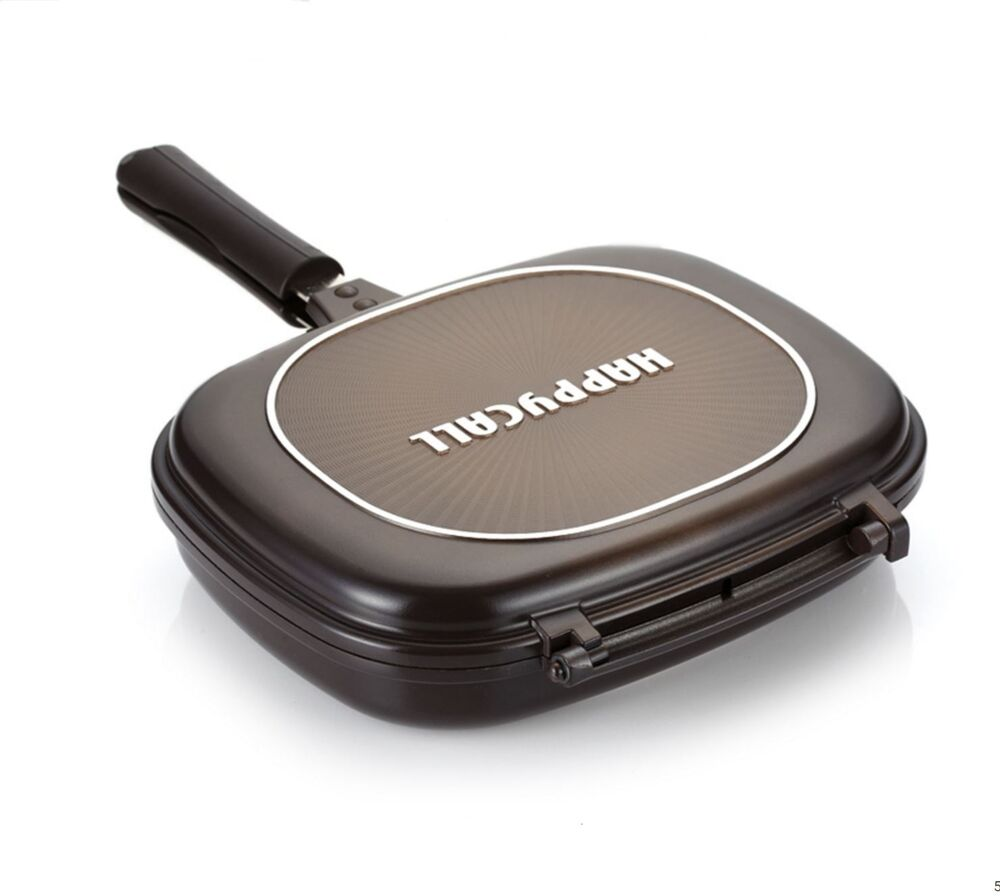 Happycall Double Sided Pan Big Size Jumbo Grill Pressure