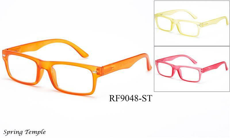 New Clear Translucent Frame Flat Texture Color Fashion ...