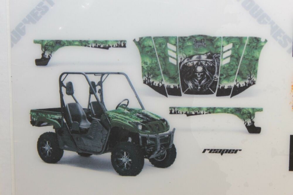 Yamaha Rhino 04 12 700 660 450 Utv Graphic Kit Wrap Amr