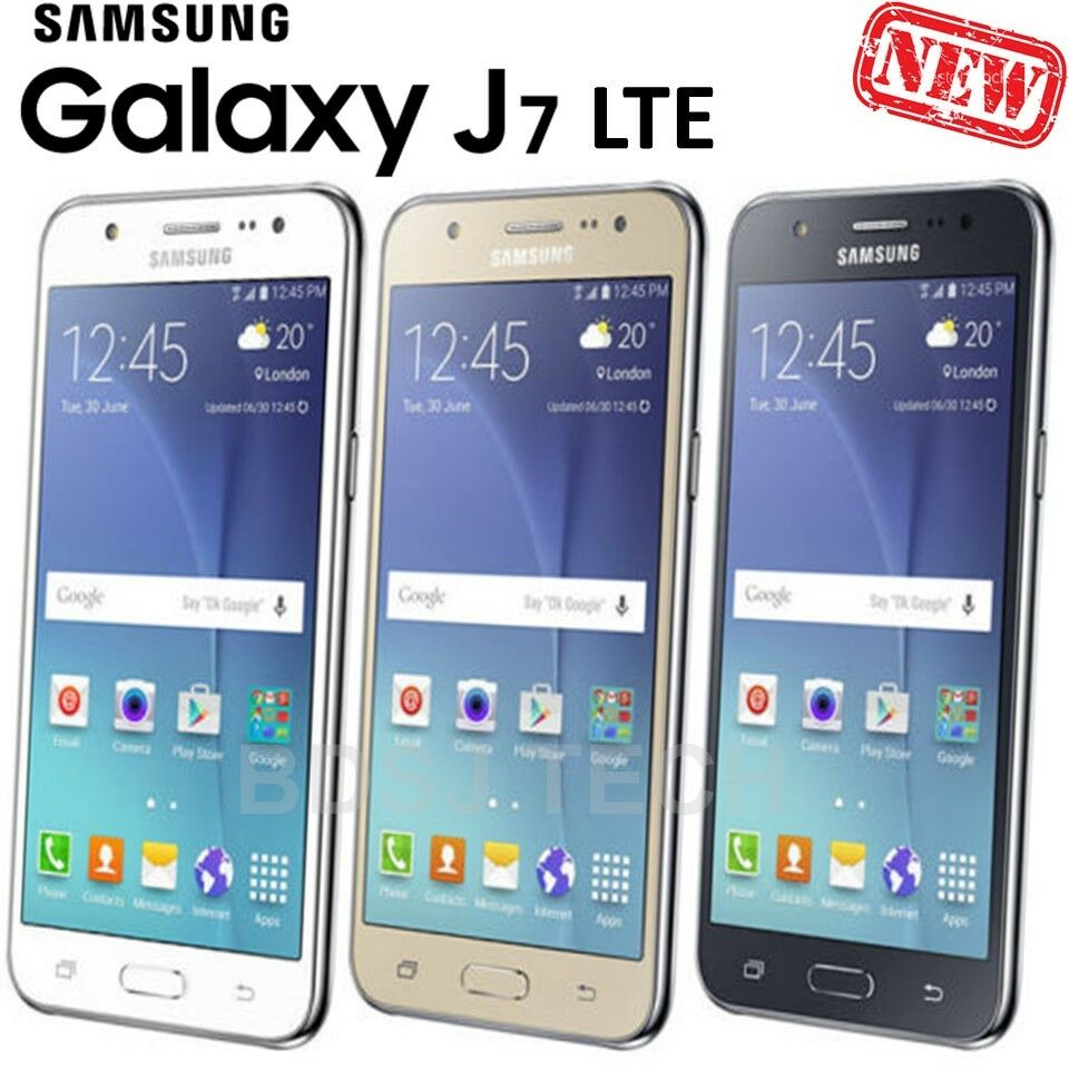 samsung galaxy j7 lte 4g 16gb dual sim gsm factory. Black Bedroom Furniture Sets. Home Design Ideas