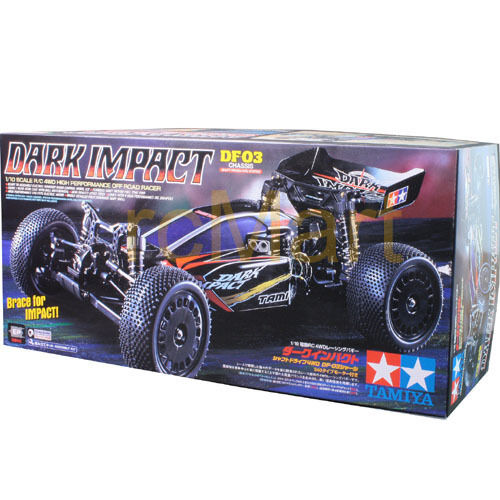 Tamiya 1:10 DF-03 Dark Impact W/O ESC EP RC Cars Buggy Off ...