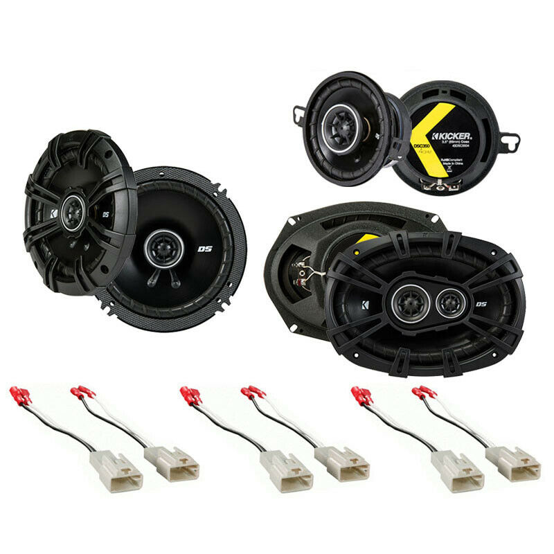 fit toyota tacoma 2005 2014 factory speaker replacement kicker ds series package ebay. Black Bedroom Furniture Sets. Home Design Ideas