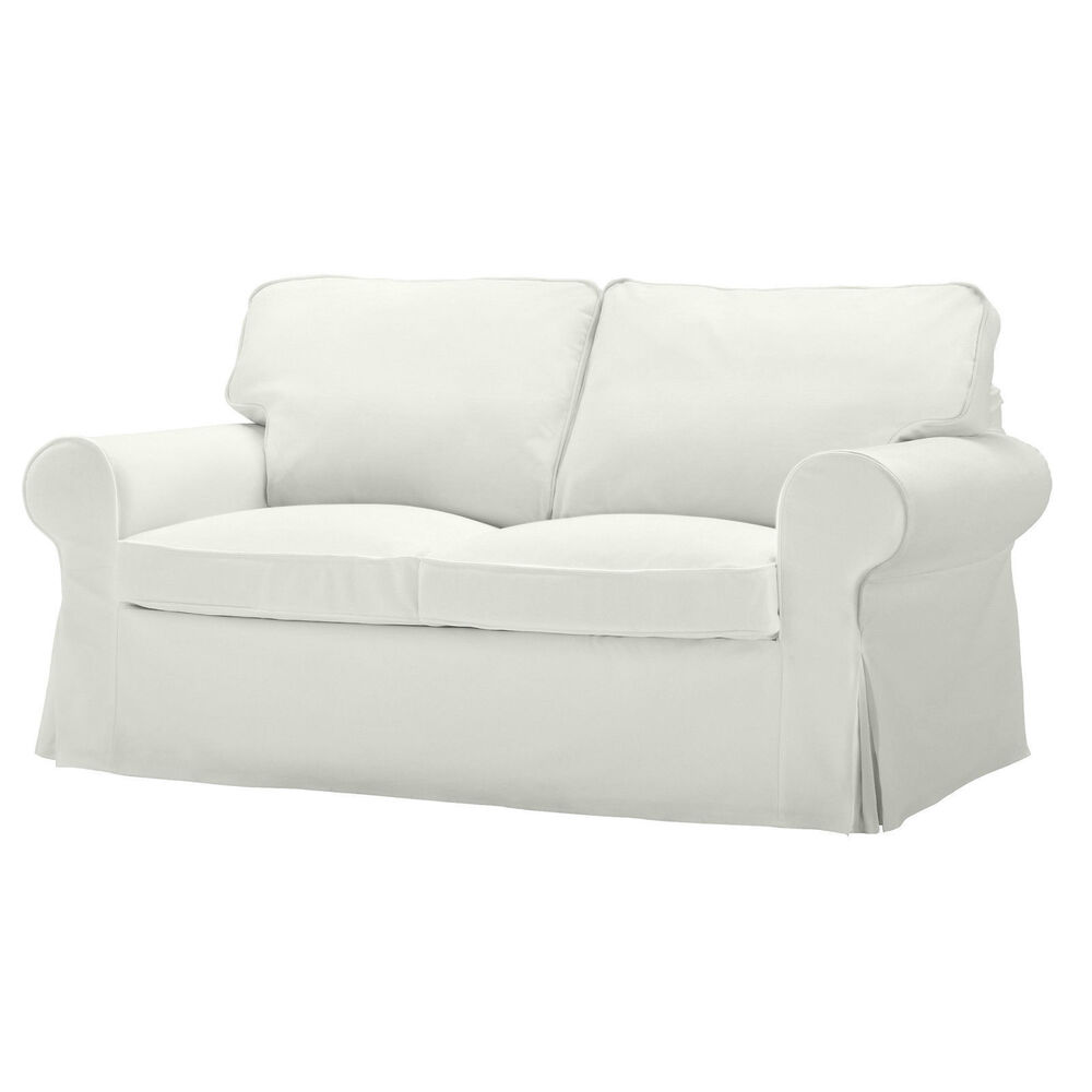 ikea ektorp 2 sitzer ersatz zweisitzer sofa belegabdeckung blekinge wei sofa ebay. Black Bedroom Furniture Sets. Home Design Ideas