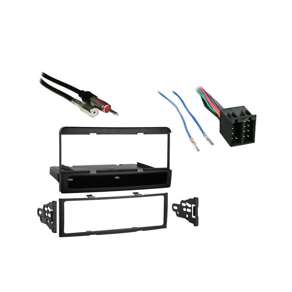Fits Ford Focus 2003  Blaupunkt Radio Single Din Harness Dash Kit