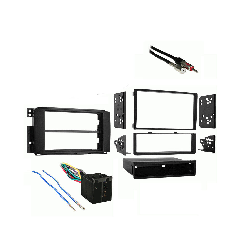 Fits Smart Fortwo 2008 2010 Multi Din Stereo Harness Radio Install Dash Kit Ebay