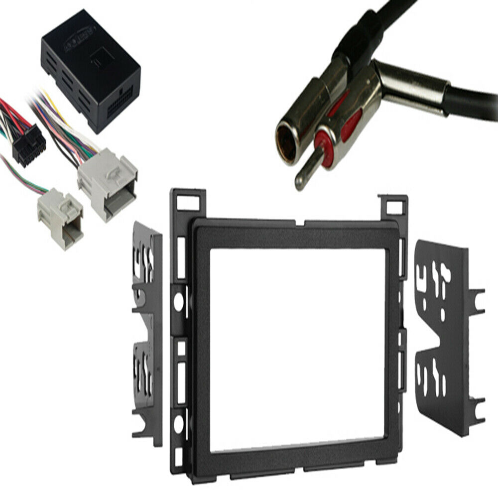 fits chevy equinox 2005 2006 double din stereo harness. Black Bedroom Furniture Sets. Home Design Ideas