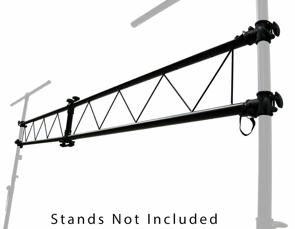 pro audio dj light lighting portable truss 10 foot i beam section extension new ebay. Black Bedroom Furniture Sets. Home Design Ideas