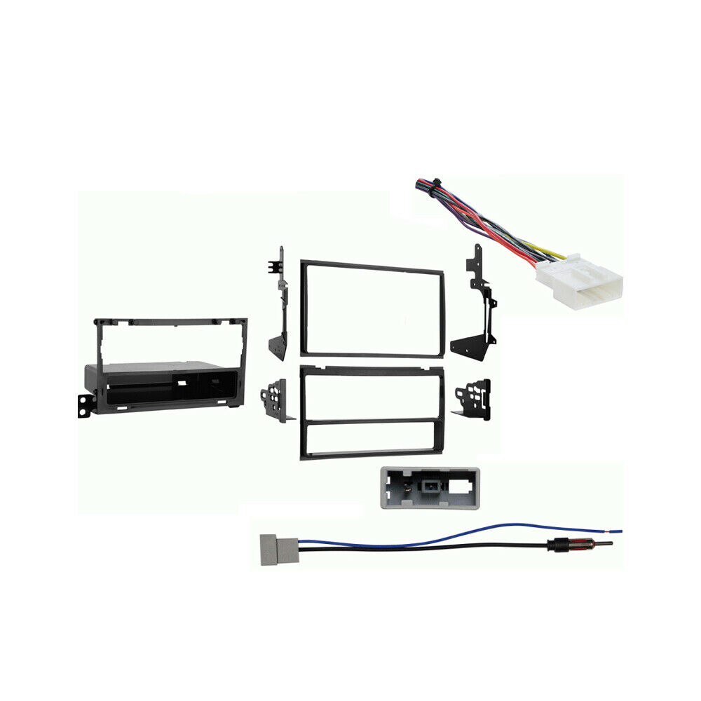 fits nissan maxima 2007 2008 multi din stereo harness. Black Bedroom Furniture Sets. Home Design Ideas