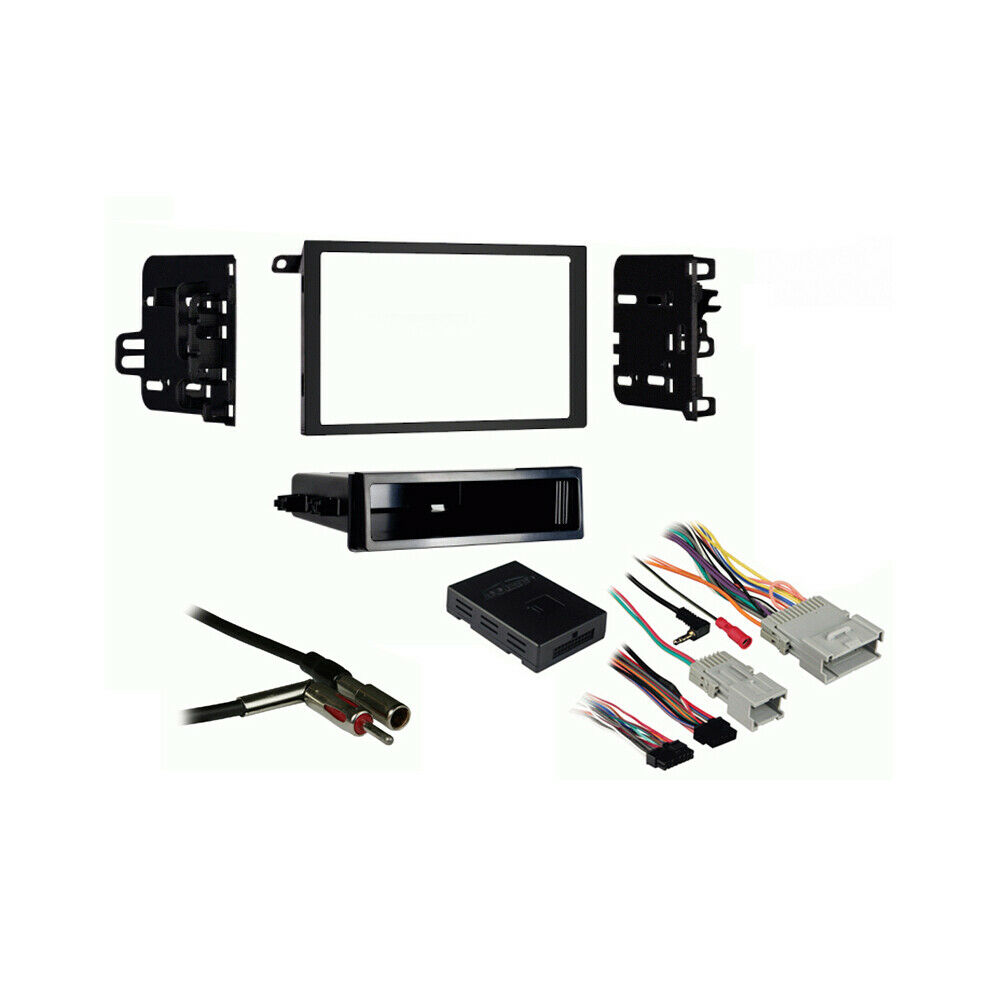 Fits Pontiac Grand Am 01 05 Double Din Stereo Harness Radio Install Dash Kit Ebay