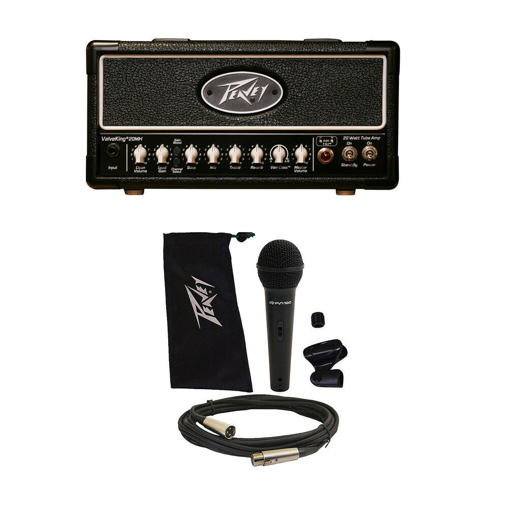 peavey valveking 20 mh micro head electric guitar amplifier tube amp head mic ebay. Black Bedroom Furniture Sets. Home Design Ideas