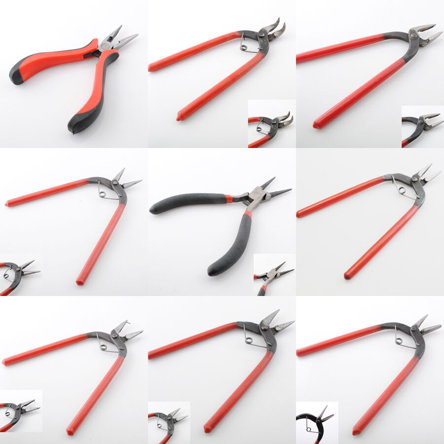 9 styles beading crimping crimper pliers beading jewelry craft design tools ebay. Black Bedroom Furniture Sets. Home Design Ideas