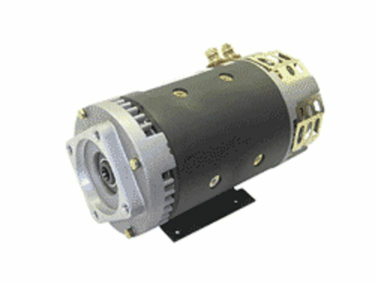 Motor electric 24vdc fits genie aerial lift part 40844 for 1 4 hp dc motor